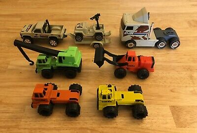 $ CDN24.99 • Buy Vintage Die Cast Toy Car Lot - Tonka GI Joe & Construction Vehicles - Lot Of 7