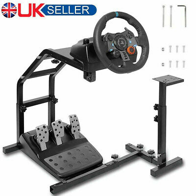 £47.98 • Buy Racing Simulator Steering Wheel Stand Holder Gaming For G29 G920 T300RS T80 UK