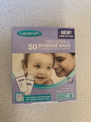 Lansinoh 50 Breastmilk Storage Bags • 9.10£