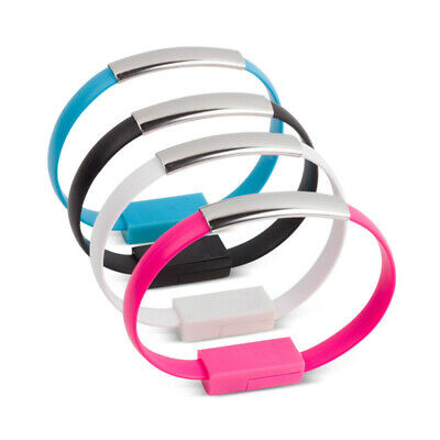 $6.09 • Buy USB Cable Bracelet Wristband Charger Charging Data Cord Sync For Smart Phone US