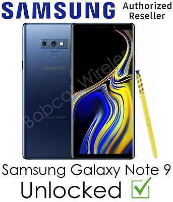 $ CDN454.53 • Buy Samsung Galaxy Note9 N960U 128GB Blue AT&T Sprint T-Mobile Verizon Unlocked!