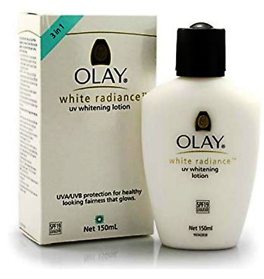 AU38.62 • Buy Olay White Radiance UVA/UVB Spf19 Whitening Lotion 150ml