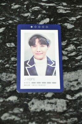 Official BTS J-Hope Hoseok 5th Muster Guestbook Card 1/5 • 13$