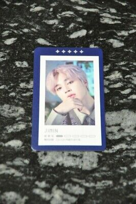Jimin - Official BTS 5th Muster Magic Shop Guestbook Photocard Kpop 5/5 • 12$