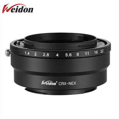 $ CDN42.31 • Buy Weidon Adapter For Contarex CRX Mount Lens To Sony E Mount A7R A7II A9 A7RIII