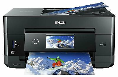 View Details Epson Expression XP-7100 Premium Wireless Color Photo Printer, DVDs, Touchscreen • 127.98$