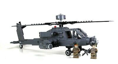 £116.38 • Buy Custom Army Attack Helicopter Made With Real LEGO® Apache