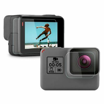 $ CDN3.64 • Buy Tempered Glass Screen Protector Cover For GoPro Hero 7 White Silver Action Cam
