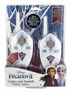 $ CDN32.94 • Buy Frozen 2 Walkie Talkies For Kids, 2 Way Radio Long Range With Flashing Lights...