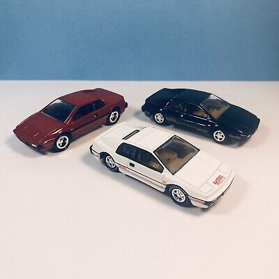$ CDN11.43 • Buy Lotus Esprit S1, Black/Red/White Johnny Lightning Diecast 1/64