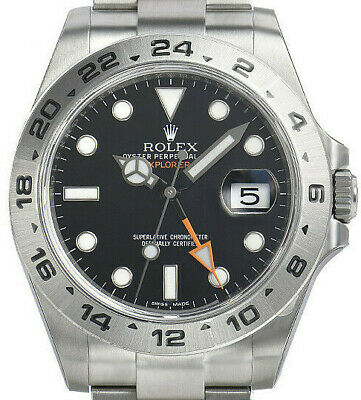 $ CDN11239.91 • Buy ROLEX EXPLORER II 42mm STAINLESS STEEL BLACK DIAL PRISTINE HIGHLINE TIME 216570