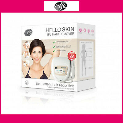 Rio Hello Skin IPL Hair Remover With 150,000 Flashes For Face, Body & Bikini • 29.99£