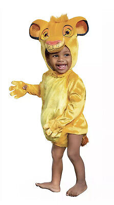£12.91 • Buy Halloween Dress Up Outfit Disney Cute Baby Lion King Simba Infant 12-18 Month