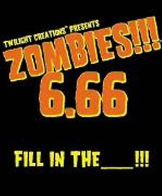 Zombies!!! Expansion 6.66 Fill In The Board Game • 14.94£