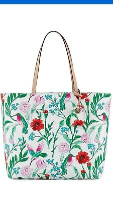 $ CDN220 • Buy Kate Spade Handbag Tote Large Floral Print New Without Tags