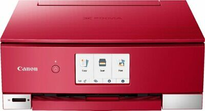 View Details Canon PIXMA TS8220 Wireless All-In-One Printer Red 2987C042 NEW Sealed • 86.00$