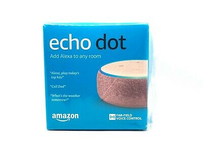AU69.99 • Buy Amazon Echo Dot 3rd Generation Smart Assistant Plum Fabric Wifi Speaker Alexa