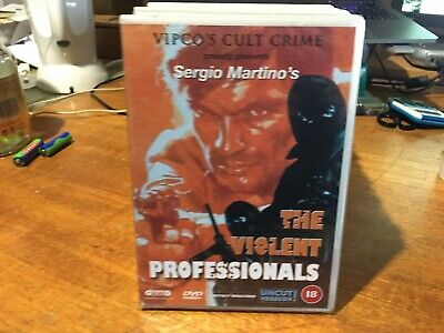 The Violent Professionals DVD New Sergio Martino Vipco's Cult Crime • 20£