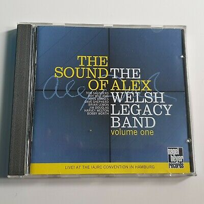 The Alex Welsh Legacy Band – The Sound Of Alex (Live) (CD) – Excellent* • 10.50£
