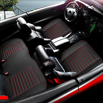 $ CDN11.92 • Buy Car Accessories Chair Seat Cover Breathable Leather Pad Mat Chair Cushion Cover