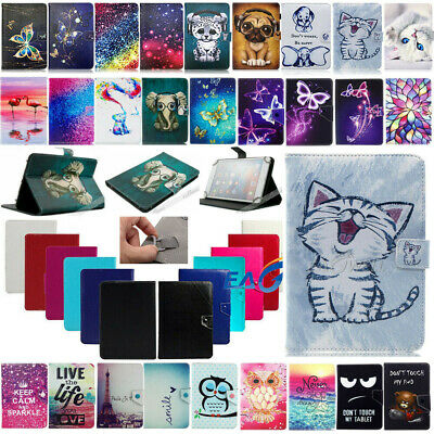 AU18.67 • Buy Universal Folding Folio Leather Case Cover For Laser 7 / 10 Inch Android Tablet