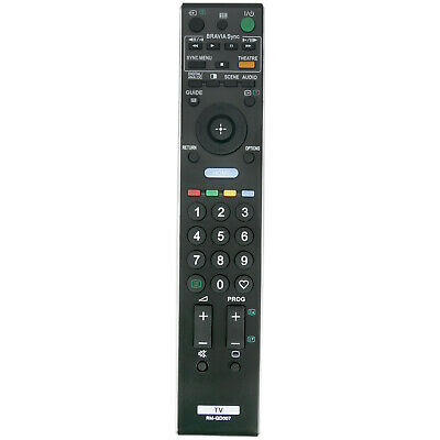 AU17.49 • Buy RM-GD007 Replaced Remote For Sony Bravia TV KDL-40V5500 KDL-46W5500 KDL-32W5500