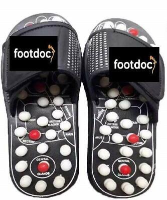 $ CDN45.68 • Buy Foot Doc Acupressure Plantar Fascistic Foot Massager Mindinsole Slippers Shoes