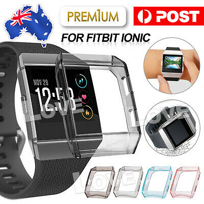 AU4.95 • Buy Watch Silicone Cover For Fitbit Ionic TPU Rugged Smartwatch Protective Case AU