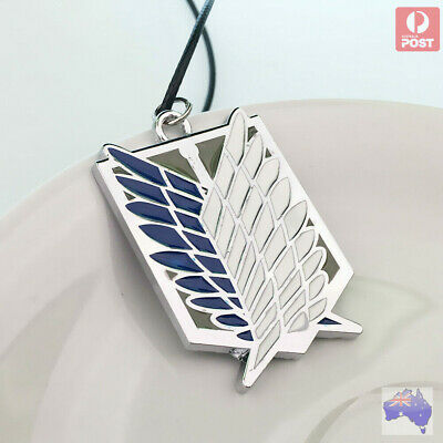 AU10.31 • Buy Famous Hot Attack On Titan Wings Of Freedom Shingeki No Kyojin Cosplay Necklace