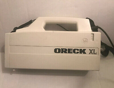 ORECK XL BB870-AW Handheld Compact Canister Vacuum USED BASE UNIT • 22$