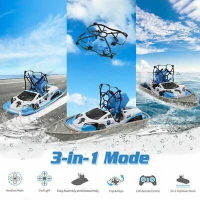 RC Boat Flying Air Boat Radio-Controlled Machine On The Control Panel Birthday C • 37.48£