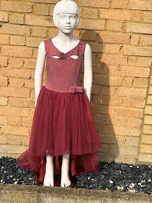 Girls High Low Dress • 28£