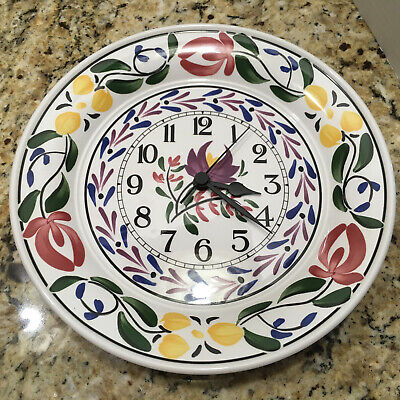 Portmeirion 1992 Welsh Dresser Wall Clock By Angharad Menna Working • 26.15£