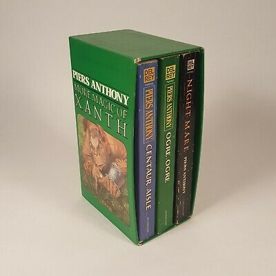 More Magic Of Xanth By Piers Anthony - 3 Book Box Set • 16.14$