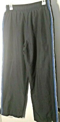 $15.99 • Buy Tek Gear Boys Navy/Royal Blue W/ White Pinstripe Activewear Pants Sz: XL 18/20