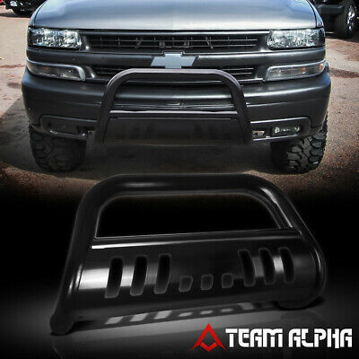 $111.89 • Buy Fits 1999-2007 Silverado/Sierra/Yukon 1500 Bull Bar Black 3  Grille Bumper Guard