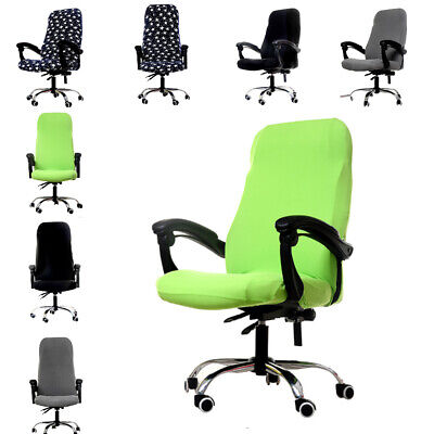 AU20.32 • Buy Stretch Spandex Office Computer Chair Cover Swivel Rotate Seat Slipcover