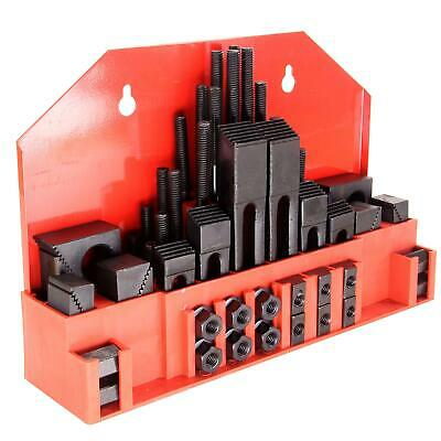 $78.59 • Buy HFS (R) Hold Down Clamp Clamping Set Kit Bridgeport Mill (5/8 Slot 1/2  Stud)