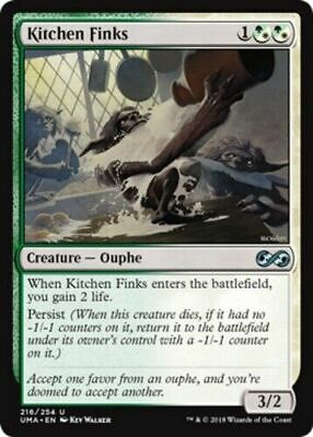 $1.99 • Buy OtBG MTG Magic Uncommon NM Near Mint Kitchen Finks Ultimate Masters