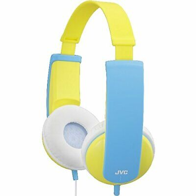 NEW Tiny Phones Kids Stereo Headphones With Volume Limiter Yellow Blue A PREMIU • 17.88£