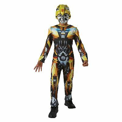 Boys Transformers Bumble Bee Fancy Dress Costume Licensed Product Book Day • 24.49£