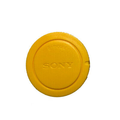 AU2.57 • Buy Yellow Front Body Lens Cap Cover For Sony E-Mount NEX Camera