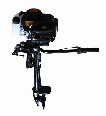 AU529.95 • Buy New 4 Stroke 4 HP Outboard Motor Boat Engine With Air Cooling System Engine Moto