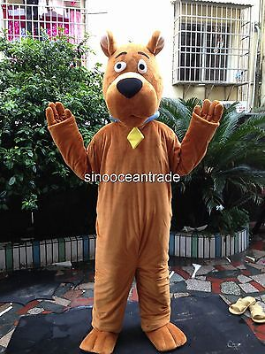 2019 New Christmas Scooby Doo Dog Adult Mascot Costume Fancy Dress Outfit UK • 143.99£