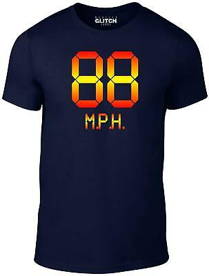 88mph Men's T-Shirt - Movie Inspired Future Marty Back To The Mcfly Film • 9.99£