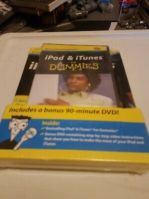 AU19.40 • Buy IPod & ITunes For Dummies [DVD + Book Bundle] (Paperback) New And Sealed