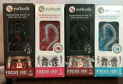 $10 • Buy Yurbuds Focus 100 By JBL Ear-Hook Headphones Sport Running Earphones