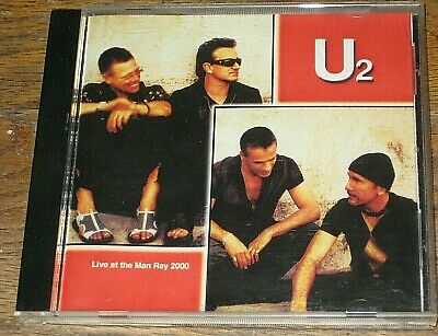 U2: Live At The Man Ray 2000 CDr • 25$