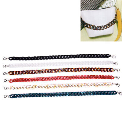 $12.39 • Buy 60cmAcrylic Detachable Replacements Chain Shoulder Bag Strap Handbag Accessor QP