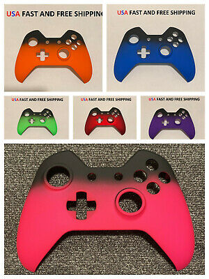 $7.99 • Buy Replacement Front Shell Faceplate For Xbox One Controller Shadow Soft Touch